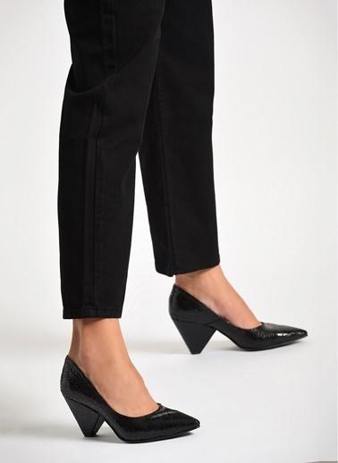 D by Divarese Topuklu Ayakkabı Siyah